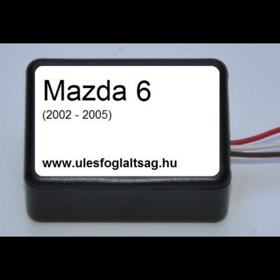 Mazda 6  ülésfoglaltság érzékelő helyettesítő áramkör (2002-2005)