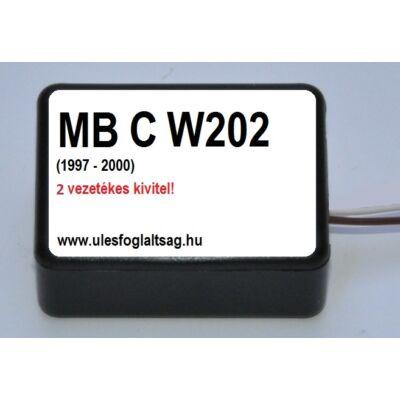 Mercedes C osztály W202, 2 vezetékes változat  (1997 - 2000)