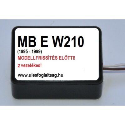 Mercedes E osztály W210, modellfrissítés előtti  (1995 - 1999) 2 vezetékes változat!