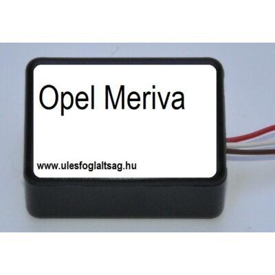 OPEL MERIVA ülésfoglaltság érzékelő helyettesítő áramkör