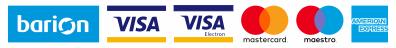 A kényelmes és biztonságos online fizetést a Barion Payment Zrt. biztosítja.Magyar Nemzeti Bank engedély száma: H-EN-I-1064/2013Bankkártya adatai áruházunkhoz nem jutnak el.